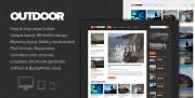 Ücretsiz / Free WP Outdoor Blog ve Magazine Teması