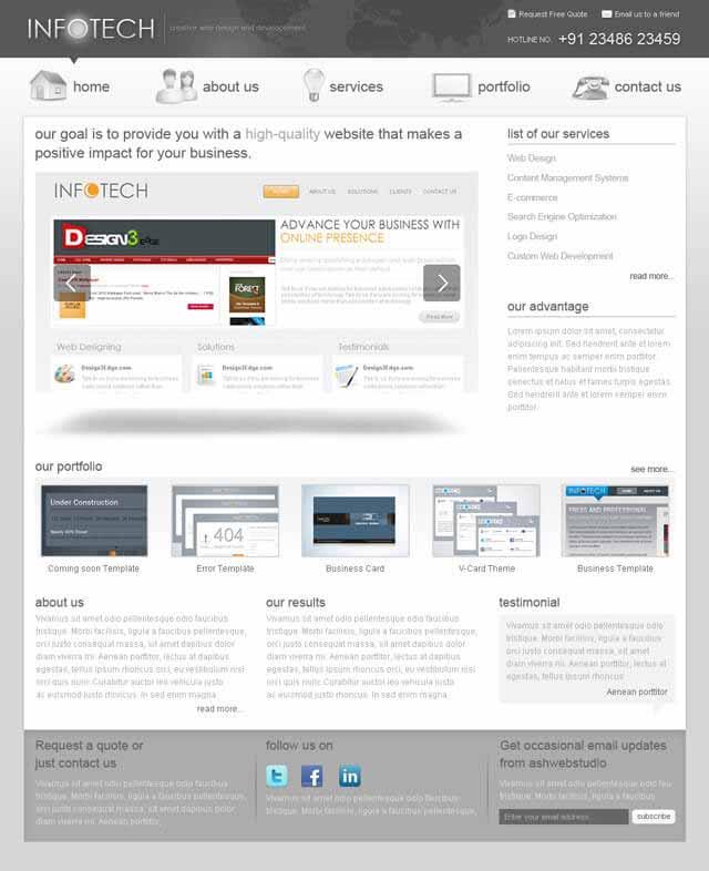1-web-site-template