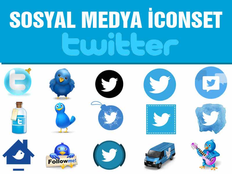 twitter-sosyal-icon-set