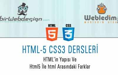 html in yapisi ders 1 400x255 - HTML-5 CSS-3 DERS-1 Html'in Yapısı Html ve Html5 Arasındaki Farklar