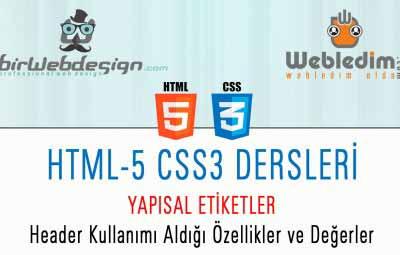 html5 header kullanimi 400x255 - HTML-5 CSS-3 DERS 2 html5 Yapısal Etiketler ve Header Kullanımı