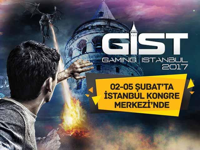 gist istanbul oyun fuari - Gaming İstanbul GİST Oyun Fuarı 2-5 Şubatta Kapılarını Açıyor