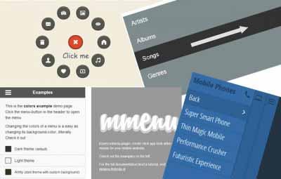 html5 css 3 animasyonlu menu ornekleri 400x255 - HTML5 - CSS3 Navigation & Animation Menu Examples / Menü Örnekleri