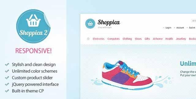 shoppica opencart tema theme download indir - Shoppica v2.2.4 opencart tema Download