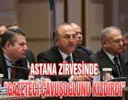 Astana Zirvesinde Tansiyon Yükseldi