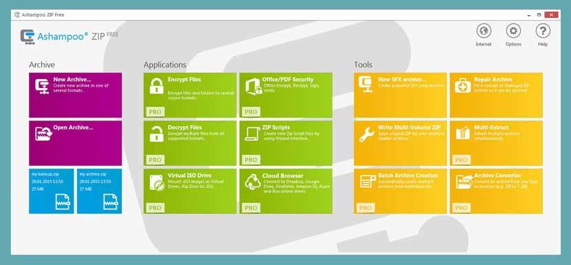 dosya sikistirma programi ashampoo zip download - 10 Ücretsiz Zip – Dosya Sıkıştırma Programı