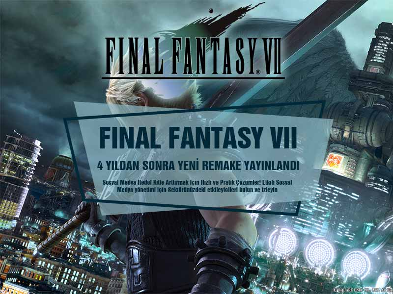 Final Fantasy 7 Remake Fragman Çıkış Tarihi ve Özellikler