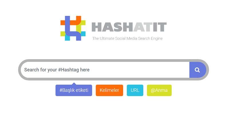 hastag analiz arama siteleri Hashatitt