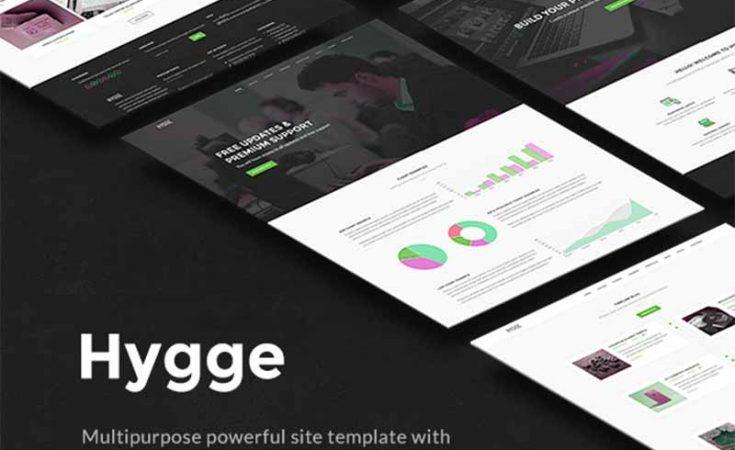 Hygge HTML Template Tema Ücretsiz İndir