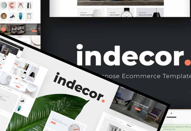 İndecor Opencart Tema ücretsiz / Free Theme download