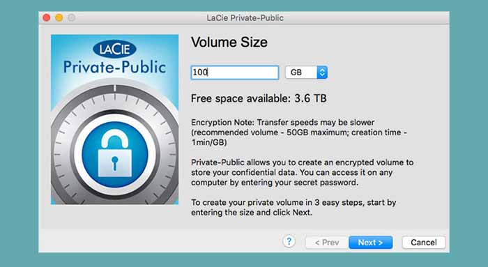 LaCie Private-Public Download