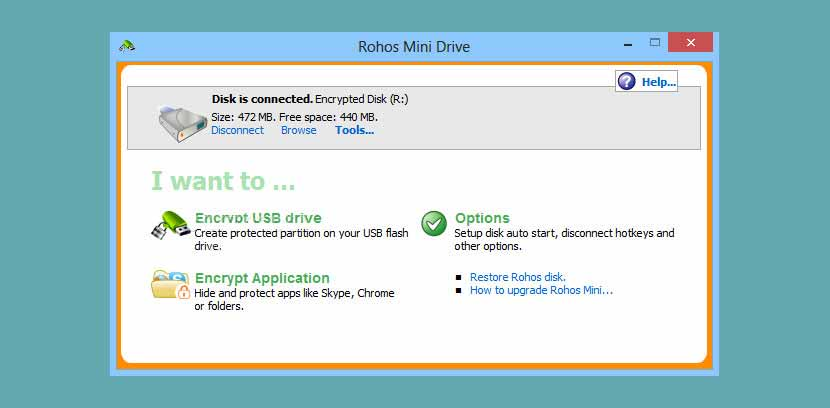 Sürücü Şifreleme Rohos Mini Drive Disk Encryption Download