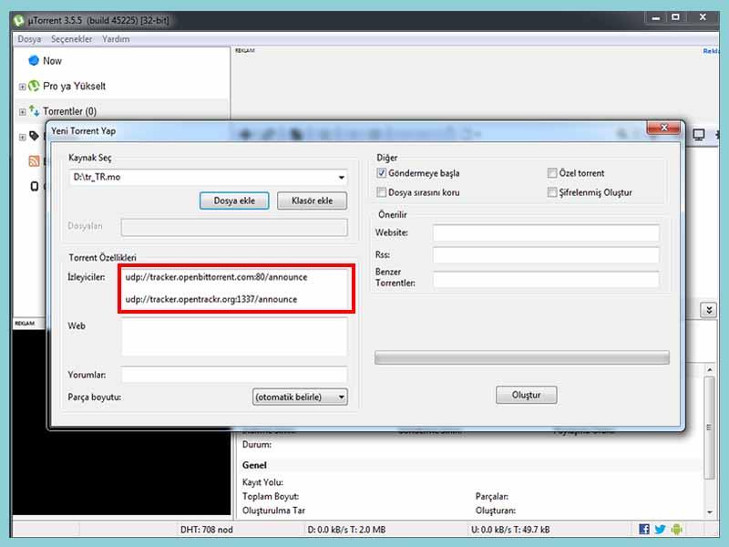 torrent izleyici ekleme - Torrent Kullanımı Detaylı Anlatım? Oyun film Müzik İndirin!