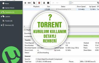 Torrent Kullanımı Detaylı Anlatım? Oyun film Müzik İndirin!