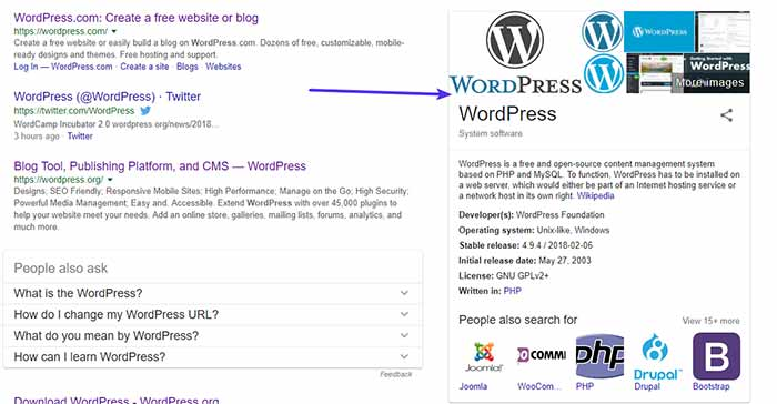 Wordpress yoast seo Organization on Person