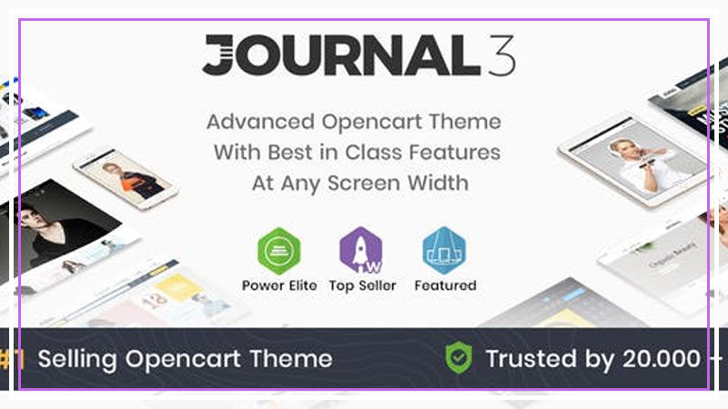 Journal V3.0.34 - Advanced Opencart Theme Tema İndir