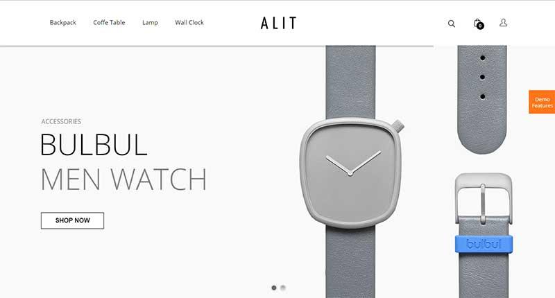 alit minimalist responsive woocommerce wordpress theme - Alit Theme - Minimalist Responsive Woocommerce WordPress Teması