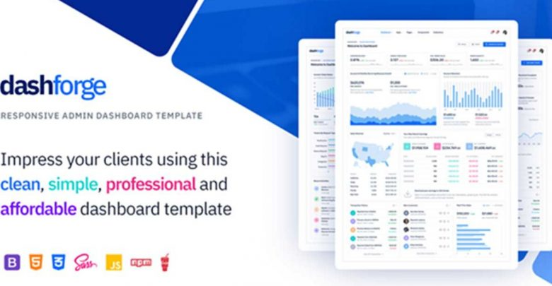 cropped dashforge admin panel theme temasi ucretsiz indir download 780x405 - Dashforge Responsive Admin Panel Theme dashboard Teması İndir