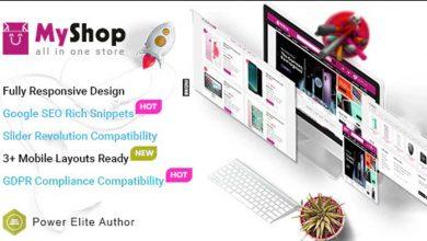 MyShop Top OpenCart 3 Multipurpose Theme Teması Ücretsiz İndir
