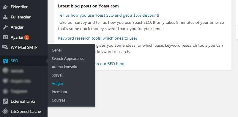 yoast seo ayarlar - Robots.txt Neden Önemli? Nasıl kullanılır? SEO Etkisi