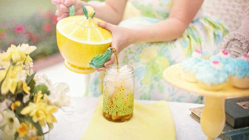 Bitkisel çaylar limon çayı