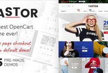 Opencart Fastor theme download ücretsiz free indir