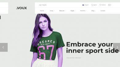 Voux Wordpress Shopping Theme Moda Alışveriş Teması indir