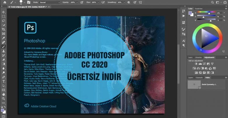Adobe Photoshop CC 2020 Full Free Ücretsiz İndir Download V20.0.6