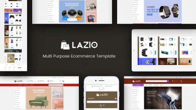 Lazio Opencart Theme Teması Download Ücretsiz İndir 2.3 & 3.x