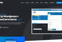 Wordpress Porto V5.1.1 Woocommerce Theme E-Ticaret Teması İndir