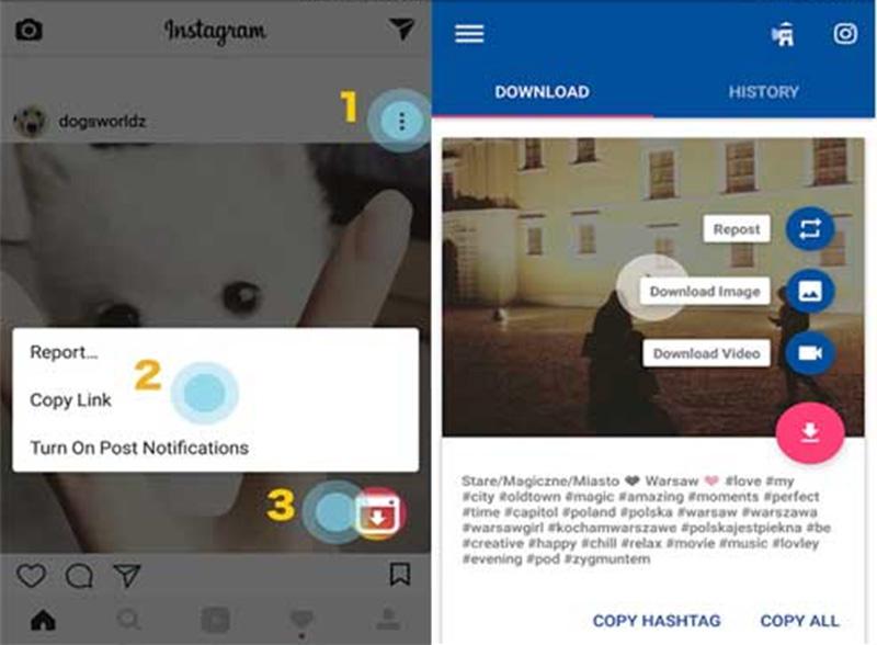 Root yapılmamış Android telefonlar için instagram fotoğrafları nasıl indirilir