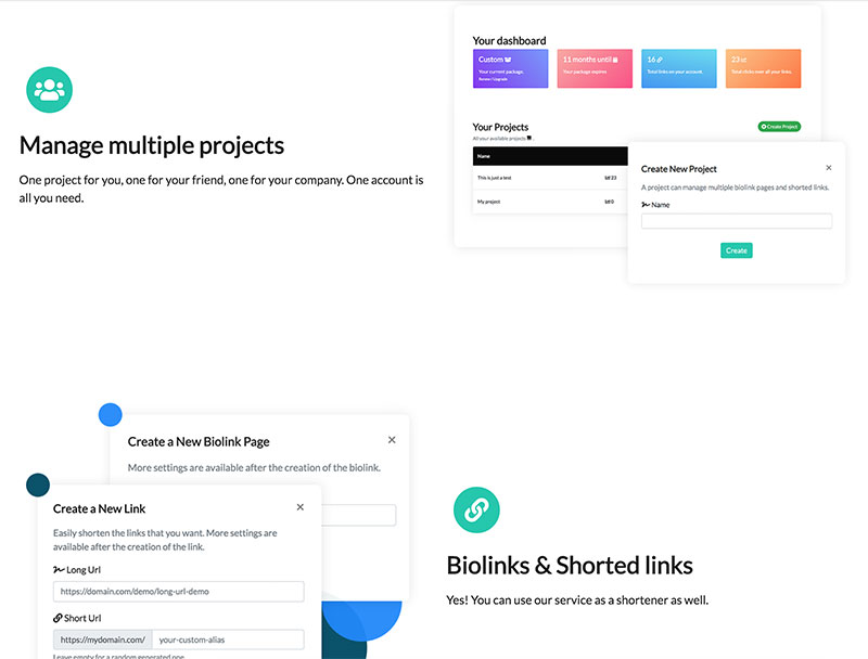 BioLinks Instagram TikTok Bio ve PHP URL Kisaltma Scripti - BioLinks Instagram & TikTok Bio ve PHP URL Kısaltma Scripti Free İndir
