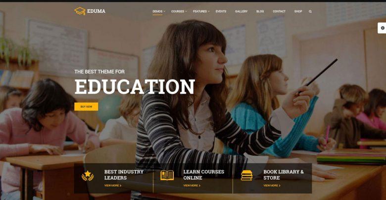 Selling Education Theme Eduma WordPress Eğitim Teması WP Okul Teması