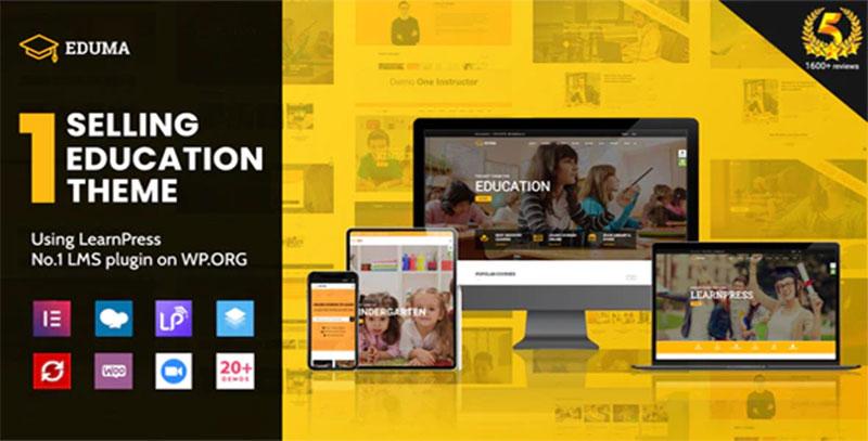 Selling Education Theme Eduma wordpress egitim sitesi temasi - Selling Education Theme Eduma WordPress Eğitim Teması WP Okul Teması