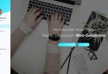 Mulan PHP Codeigniter Özgeçmiş kişisel site scripti İndir Download