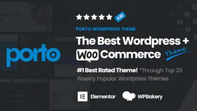 Porto WordPress Theme e-Ticaret Teması v5.2.2 Ücretsiz İndir Download
